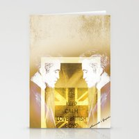 actor Stationery Cards featuring Robert Pattinson - Actor by Sherazade's Graphics