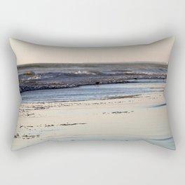 Beach Sunset Ormond Beach Rectangular Pillow
