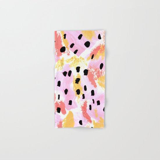 Dreams of Summer Abstract Hand & Bath Towel