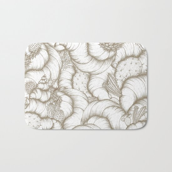 ABSTRACT CATUSES Bath Mat