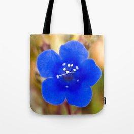 Desert Bluebell Alternate Perspective Tote Bag