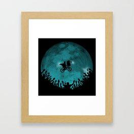 Original ending  Framed Art Print