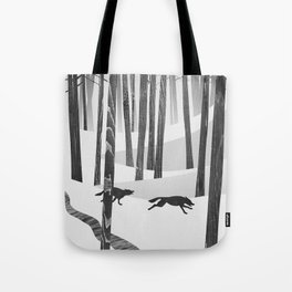 Martwood Wolves Tote Bag