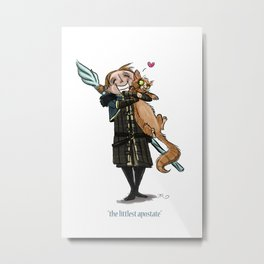The Littlest Apostate Metal Print