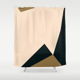 3- d light and dark Shower Curtain