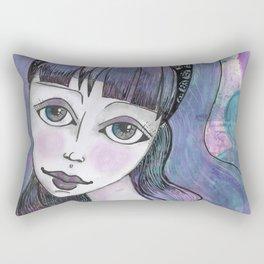 Violet Rectangular Pillow