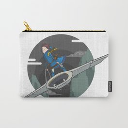 Nausicaa (of the valley of the wind) Carry-All Pouch