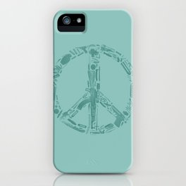 Find Peace (Green) iPhone Case