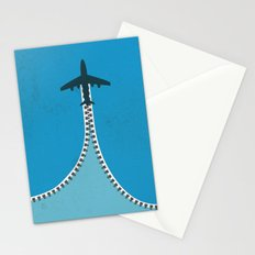 Unzip the sky Stationery Cards