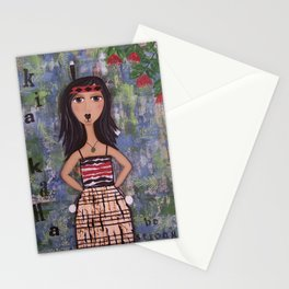 Kia Kaha Stationery Cards