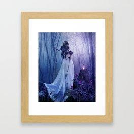Amour Interdit Framed Art Print