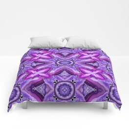 JCrafthouse Agate of Wonder in Royal Purple Comforters