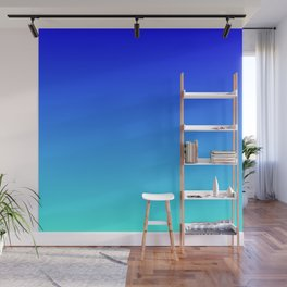 Caribbean Water Gradient Wall Mural