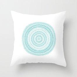 Pattern 1 Green Throw Pillow