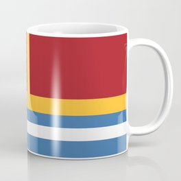 vintage primary colors Coffee Mug