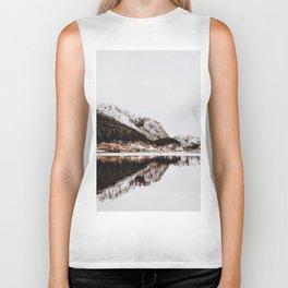 LAKE - OCEAN - BAY - SNOW - MOUNTAINS - HILLS - PHOTOGRAPHY Biker Tank