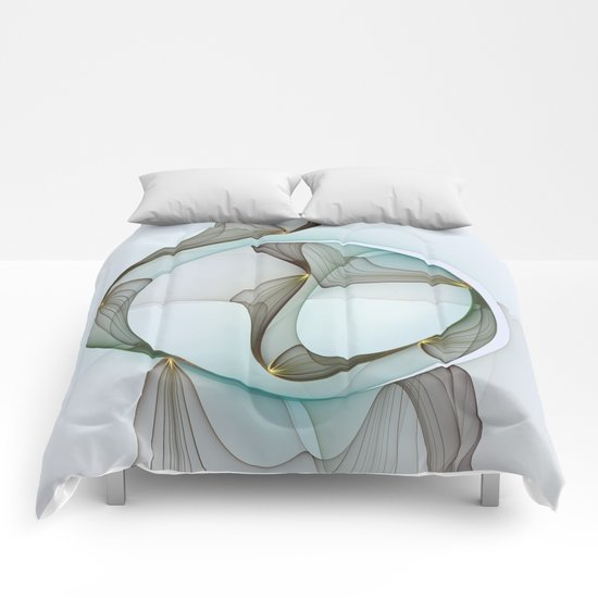 Abstract Elegance Comforters