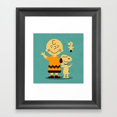 Tribute to ... Framed Art Print