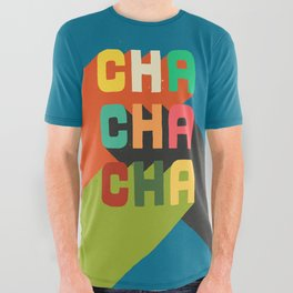 Cha cha cha All Over Graphic Tee