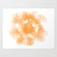 Super Orange Art Print