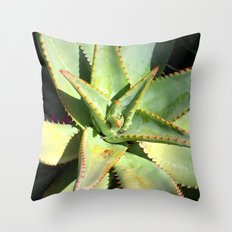 Agave I Throw Pillow