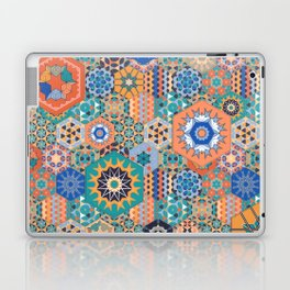 Hexagons Tiles (Colorful) Laptop & iPad Skin