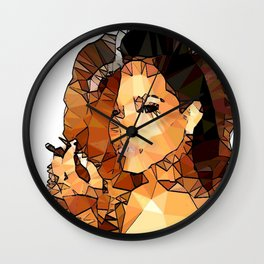 ICONS: Rihanna2 Wall Clock
