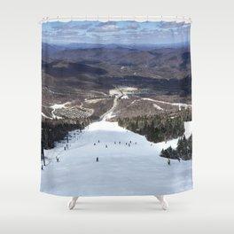 Skiing Superstar, Killington Shower Curtain