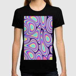 Digital Water Marble Painting #1 T-shirt