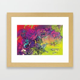 The Pit Framed Art Print