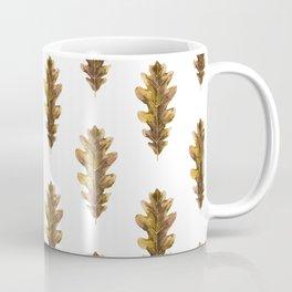 Autumn Oak Leaf Coffee Mug