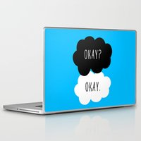 fault in our stars Laptop & iPad Skins featuring Okay? Okay. The Fault in Our Stars  by Janice Wong