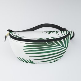 Tropical Palm Leaf Fanny Pack