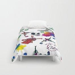 Oh, la-la,Paris! Comforters