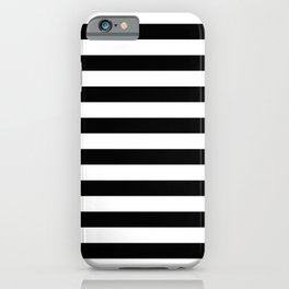 Abstract Black and White Stripe Lines 10 iPhone Case