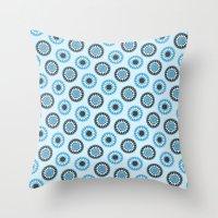 arab Throw Pillows featuring Arab #4 by Rafael CA