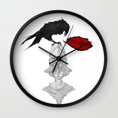 Nevermore! Wall Clock