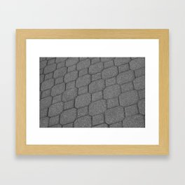 Pavers at Purdue Framed Art Print