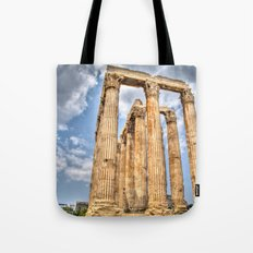 Temple of Zues Tote Bag
