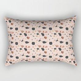 Terrazzo vintage pattern design Rectangular Pillow