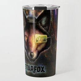 Star Fox McCloud Epic Space Poster Travel Mug