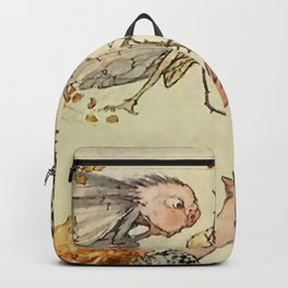 """""""Bother the Wind"""" by Duncan Carse Backpack"""