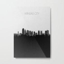 City Skylines: Kansas City (Alternative) Metal Print
