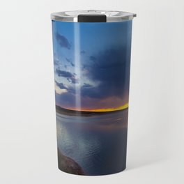 Bluewater Lake Sunset Travel Mug