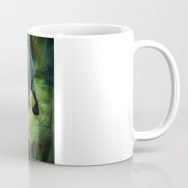 Jungle Girl Vs. Raptordrake Coffee Mug