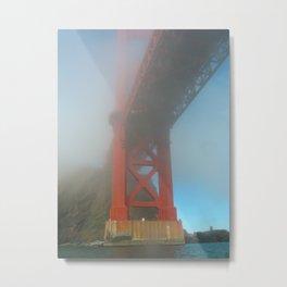 Under the Golden Gate Bridge Metal Print