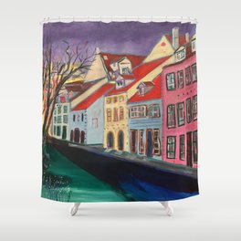 Livi Laukum, Riga, Latvia Shower Curtain