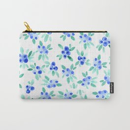Blueberry Bunches Carry-All Pouch