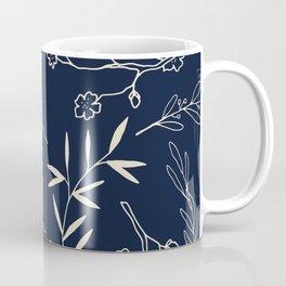 Japanese Floral Coffee Mug