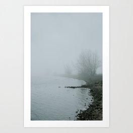 Spring Mist on Aeroe Art Print